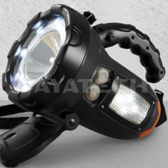 LED Search spot light LED Halogen option battery rechargable portable