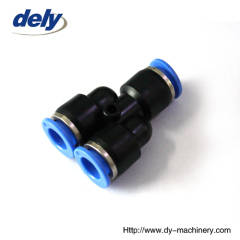 DPY Y type push fitting