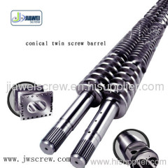 Conical Twin Screw Barrel for Plastic Machine