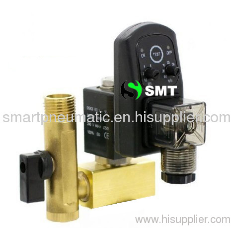 Drain valve, use for air compressor,air compressor,Electronic timing type drain valve