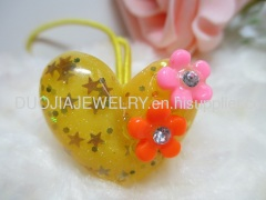 Hair Accessories Hair Rubber Band with Resin