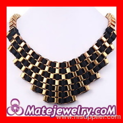 Fallon Veruca Chain Bib Necklace