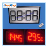LED Time Temperature Sign Board
