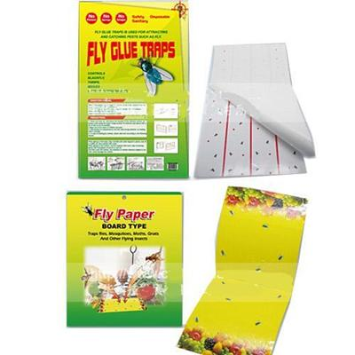 Fly Adhesive Glue Fly Traps Fly Glue Traps paper Fly Stick