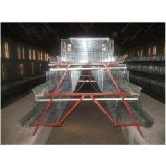 Chicken Cage Hen Coop Layer Coop Galvanized Layer cages