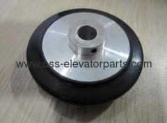 Kone friction wheel