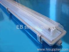 T8 1x36W IP65 waterproof industrial fluorescent lamp