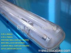 T5 2*35w IP65 waterproof fluorescent lamp tube fixtures