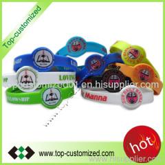 fashion silicone bracelet and bangle