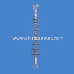Long rod suspension composite insulator