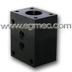 NG10 G1/2 Rexroth DBDS Valve Subplate Mounting Block