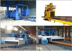 Q69 Series Steel Sheet Shot-blasting Pre-treatment Line
