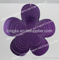 3D wind spinner flower shape