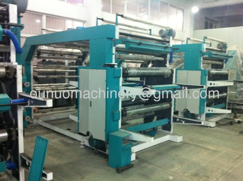 YT-41200 Four Color Screen Printing Machine