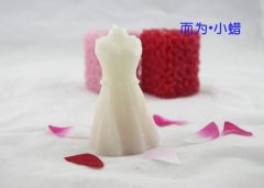 Wedding Dress Craft Bride Candle Stand Product (RC-0055)