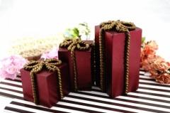 Red Pillar Wedding Cube Gifts