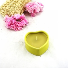 Ceramic Candle Holder Heart Shape Gifts Products (RC-303)