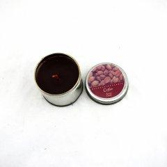 Coffee Chocolate Tin Candle Holder (RC-287)