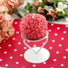 Rose Ball Iron Candle Holder (RC-522)