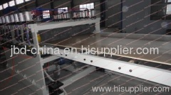WPC shuttering board extrusion line