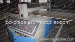wood plastic building template production line