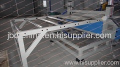 wood plastic composite board production line