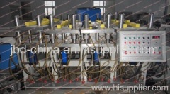 wood plastic composite board extrusion machine