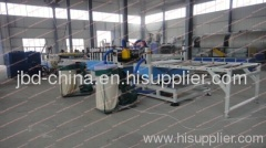 Wood plastic foam board extrusion machine