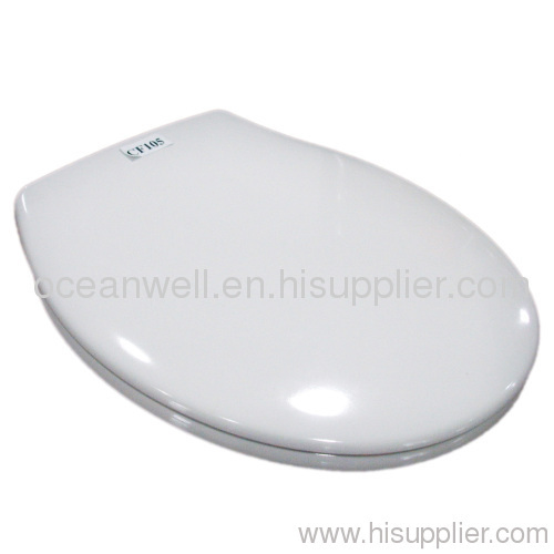 Economic Soft Close Urea Toilet Seat Cover With Stainless Steel Hinge