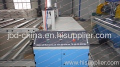WPC framework panel extrusion line