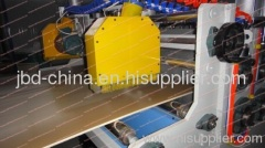 wood plastic composite board extrusion line