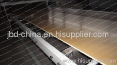 wood plastic foam board production line