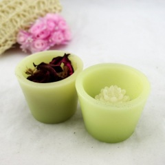 Flower Bowl Craft Candle (RC-279)