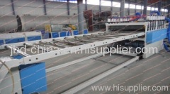 PVC WPC building template production line