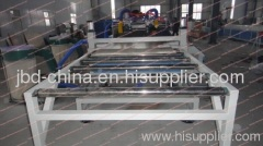 PVC WPC foam board extrusion machine