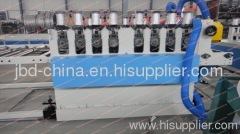 PVC skinning foam board extrusion machine