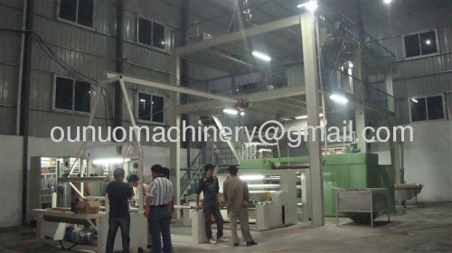China non woven fabric making machine