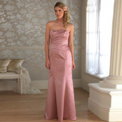 Satin-Bridesmaid Wedding Dresses