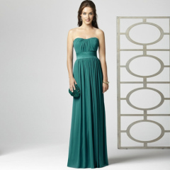 high quality-bridesmaid gown