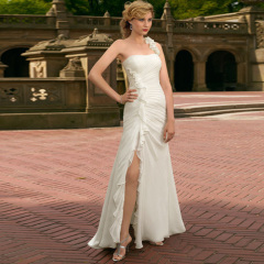 Newest Mermaid Beach Wedding Dress