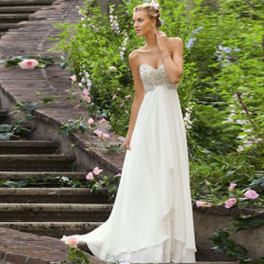 Perfect Lace Beach Wedding Dresses