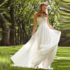 Sweetheart Chiffon Voyage Wedding dresses with Appliques