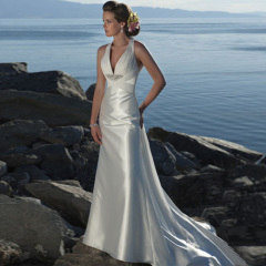 Newest Elegant Designer Beach Wedding Dresses