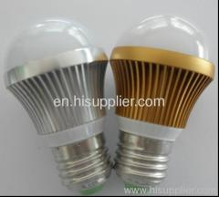 3W E27 LED Lamp Bulb White\Warm Light Energy Saving Super Bright AC110-240V