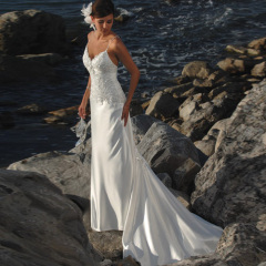 discount beach wedding dresses