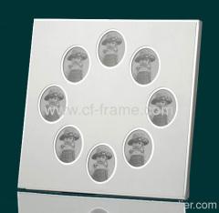 8 windows aluminum photo frame