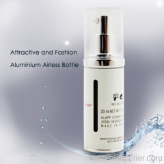 Metal Cosmetic Airless pump Bottle
