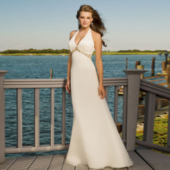 Sexy Halter Beach Wedding Dresses