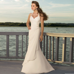 2013 Newest Elegant Sexy Beach Wedding Dresses