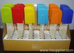 silicone baking spatulas